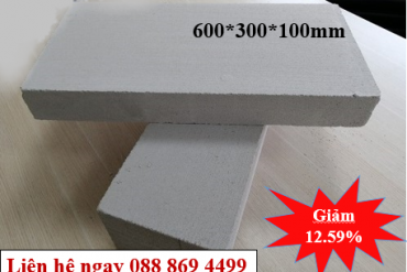 Khuyễn mãi đặc biệt [Black Friday 15%] gạch bê tông siêu nhẹ AAC giá gốc từ nhà máy Eblock Bến Lức - Long An