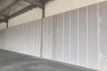 Xây dựng nhà tạm nhà khung thép tiền chế cấp 4 giá rẻ sử dụng tấm panel ALC