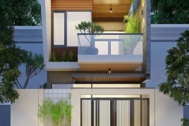Những mẫu thiết kế nhà phố đẹp, hiện đại 2020