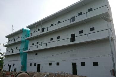 Xây nhà trọ tại quận 9 sử dụng tấm Panel bê tiing nhẹ AAC