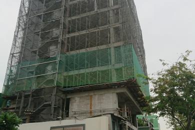 Dự án xây nhà văn phòng sử dụng gạch nhẹ AAC tại Quận 4