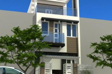 30 mẫu thiết kế mặt tiền ấn tượng cho nhà phố 3 tầng đẹp sử dụng gạch nhẹ AAC