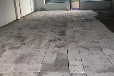 Tôn nền chất lượng, giá thành hợp lý với gạch bê tông nhẹ AAC