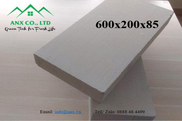 Gạch Block 600x200, độ dày 85mm
