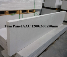 Panel AAC size 1200x600, thickness 50mm