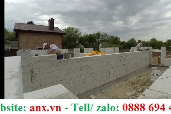 Gạch bê tông siêu nhẹ eblock 600x200x100mm