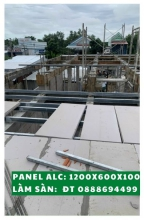 Panel AAC size 1200x600, thickness 100mm