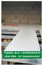 Panel AAC size 1200x600, thickness 75mm